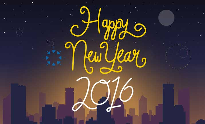 Happy New Year website