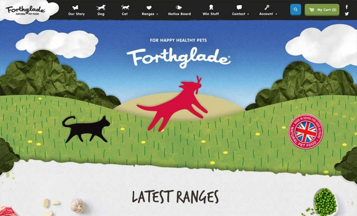 Forthglade website