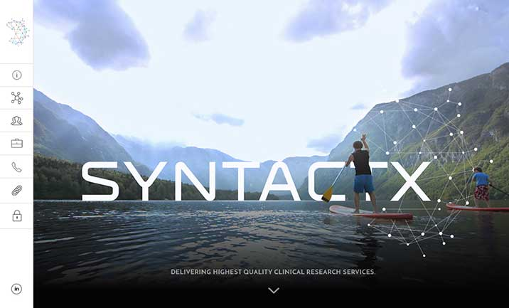 Syntactx  website