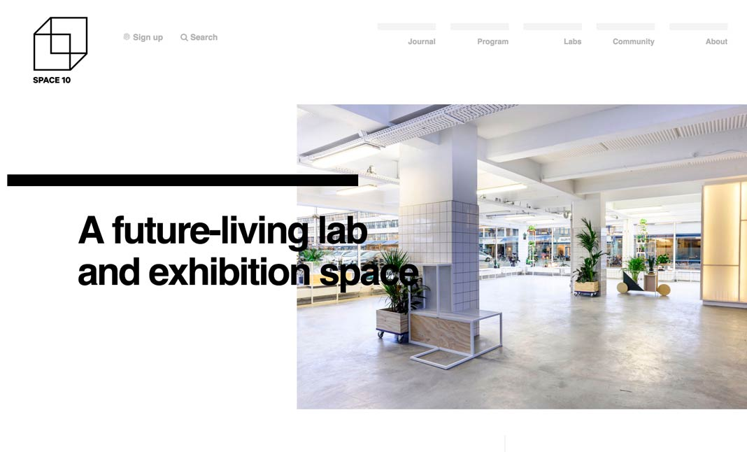 Space10 website