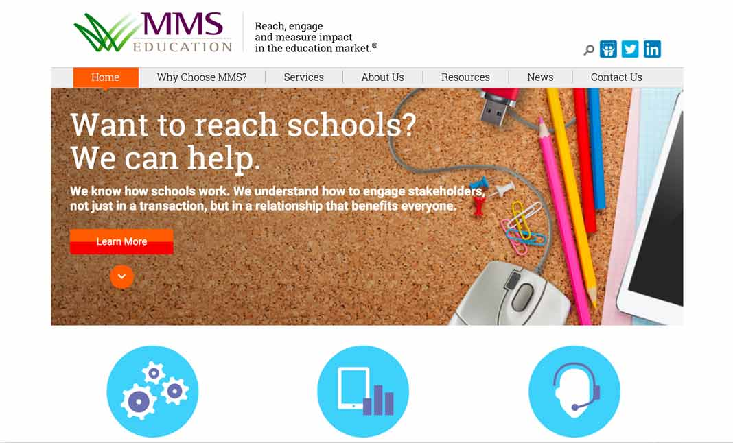 MMS Education website