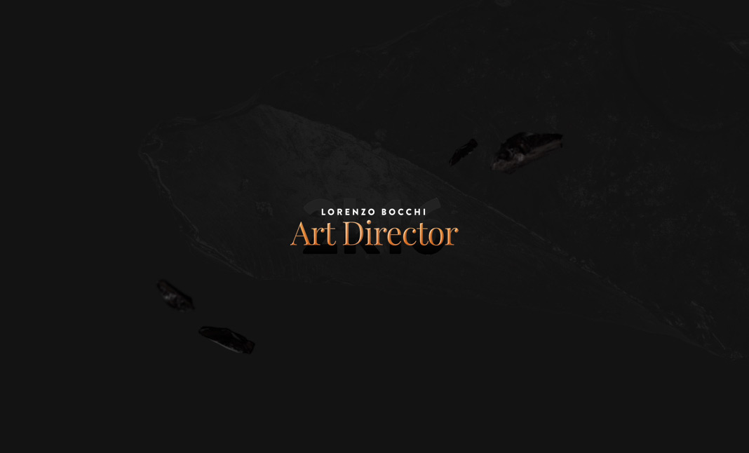 Lorenzo Bocchi // Art Director website