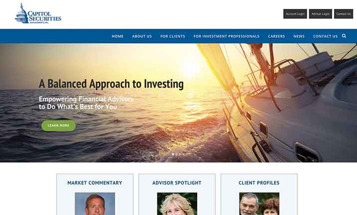 Capitol Securities website