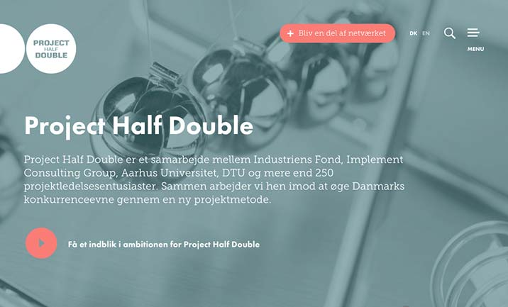 Project Half Double website