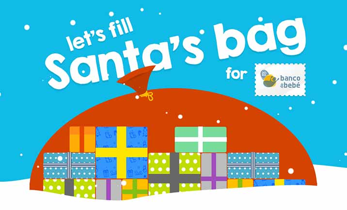 Santa's Bag for Banco do Bebe website