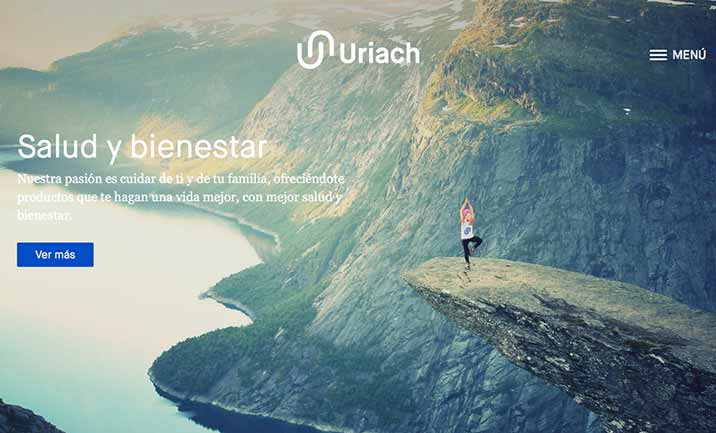Uriach website
