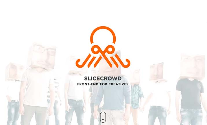 SliceCrowd website