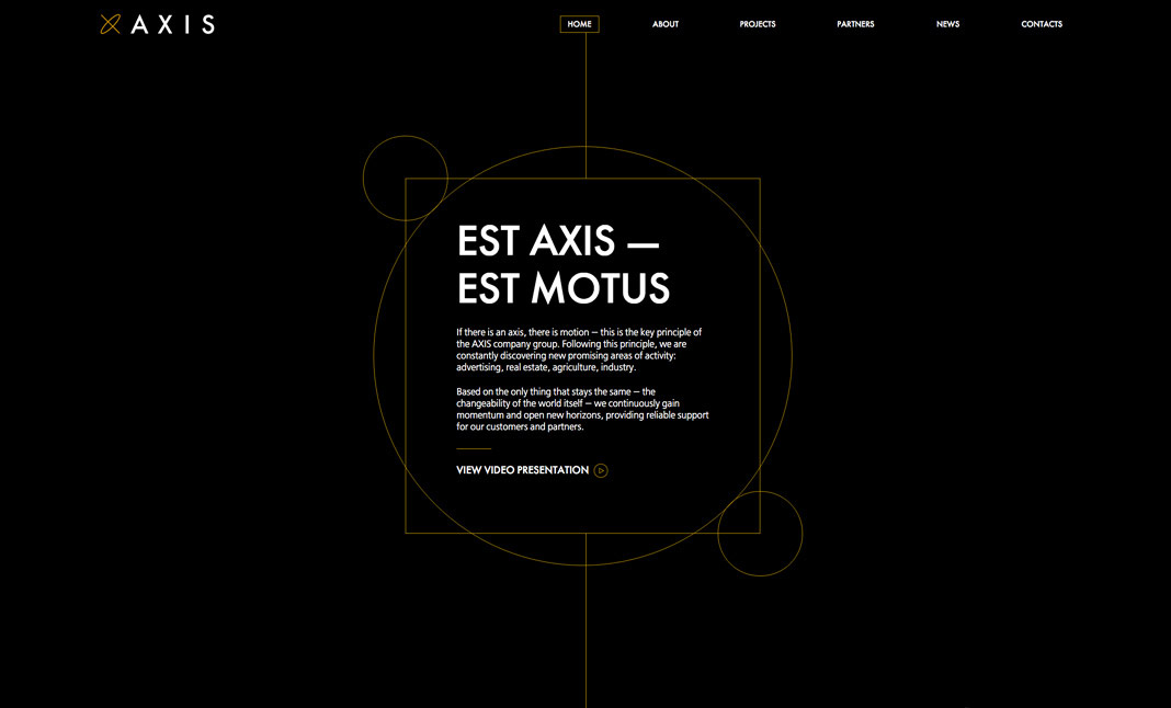 AXIS group website