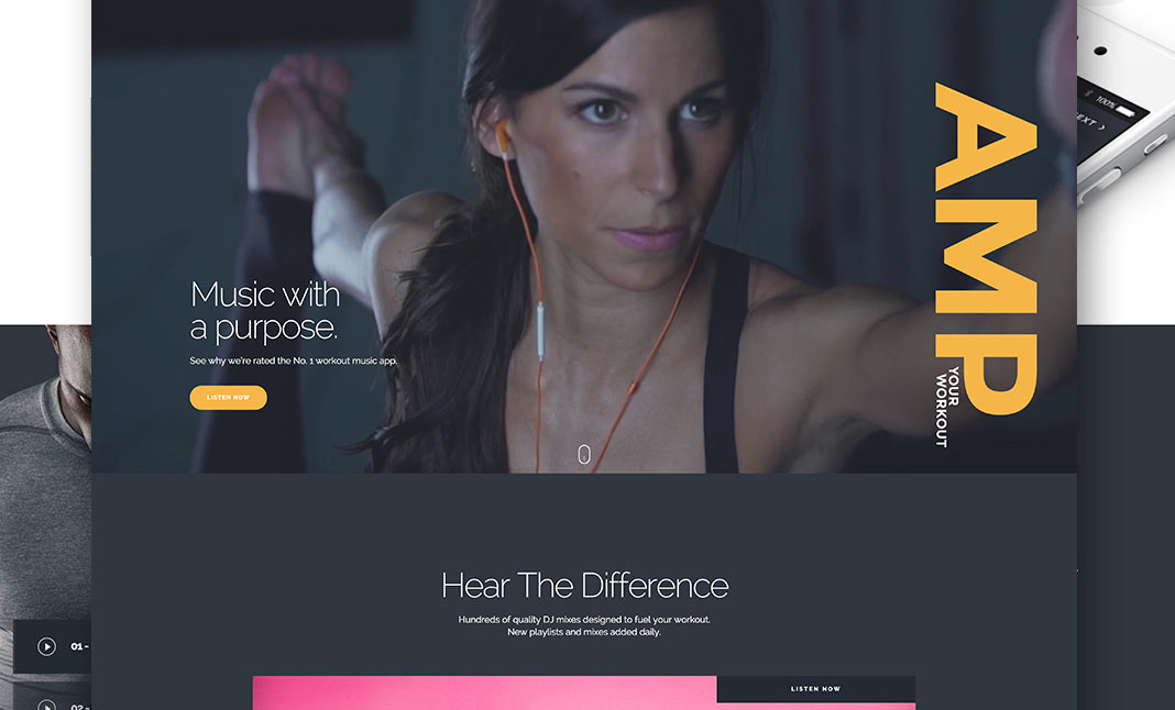 Fit Radio website