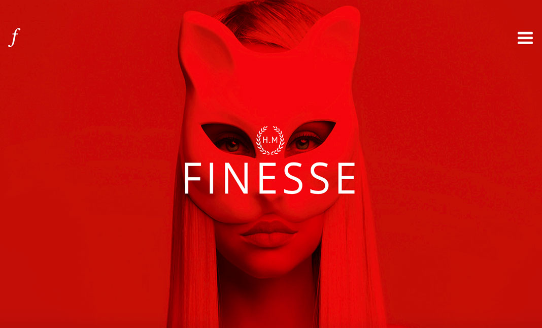 Finesse Design Atelier website