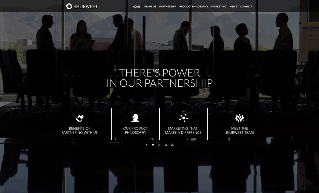 Shurwest Financial Group website