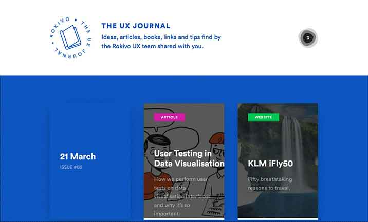 The UX Journal