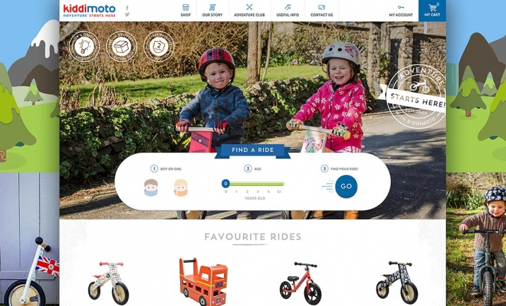 Kiddimoto website