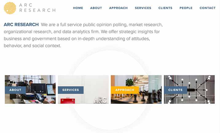 ARC Research website