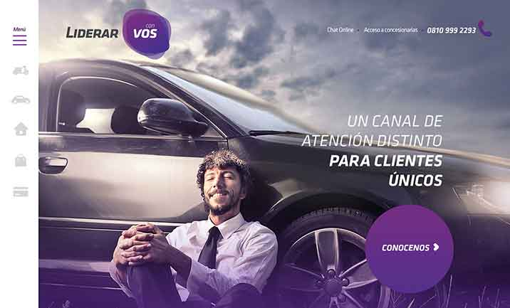 Liderar Con Vos website