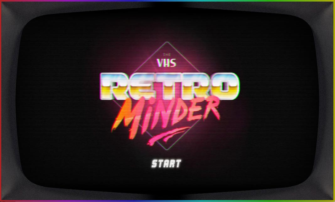 The VHS Retrominder website