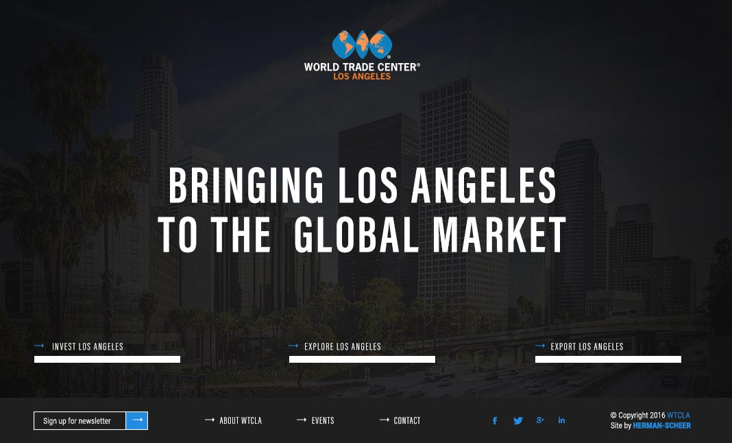 World Trade Center: Los Angeles website