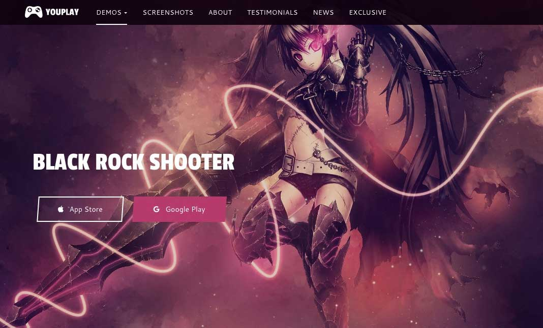 Youplay WordPress Theme for Game website