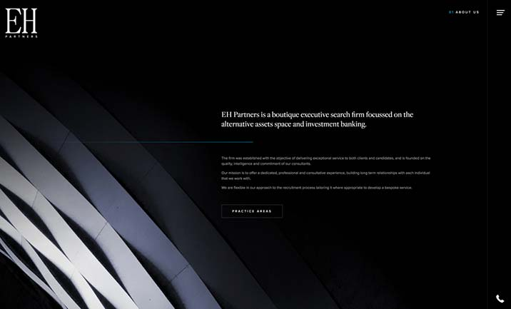 EH Partners website
