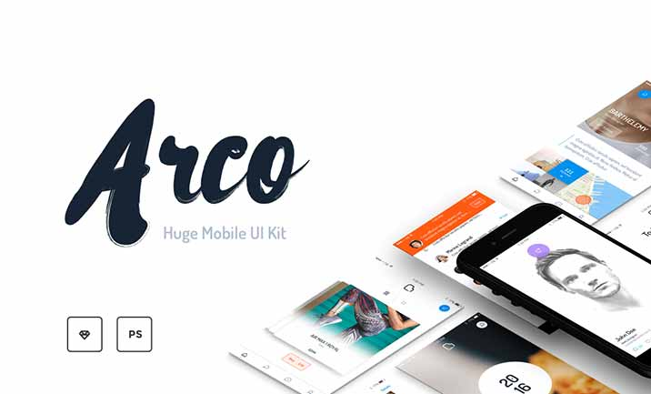 Arco - Mobile UI Kit