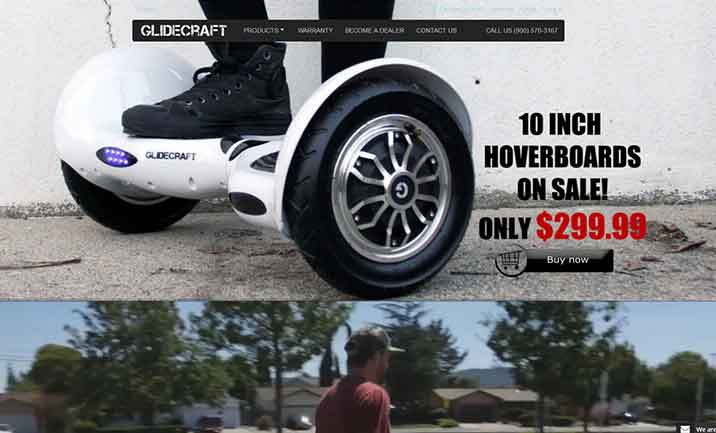 Buy Hoverboard by Glidecraft