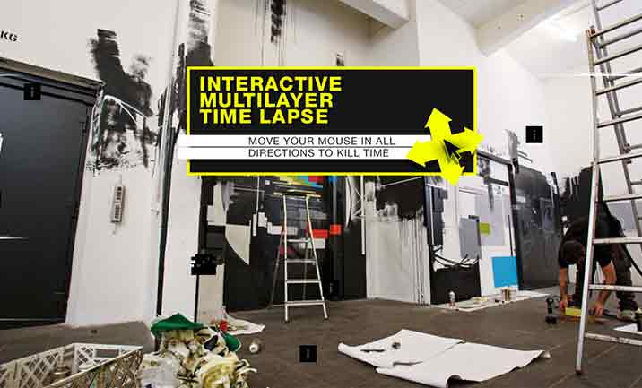 wow123 - Interactive Time Lapse website