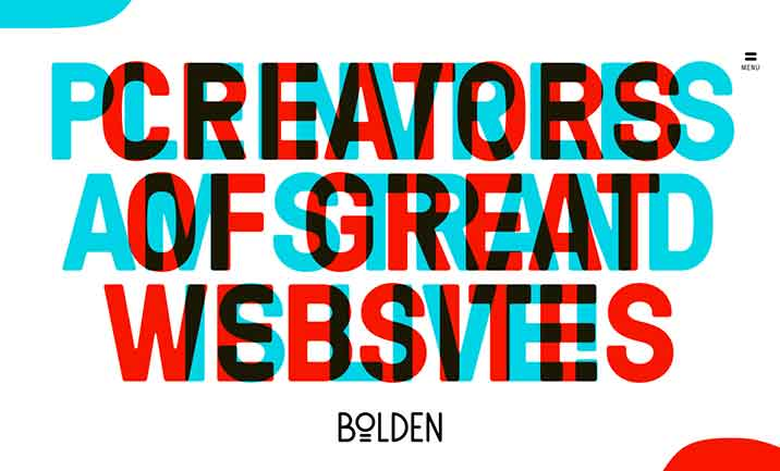 Bolden website