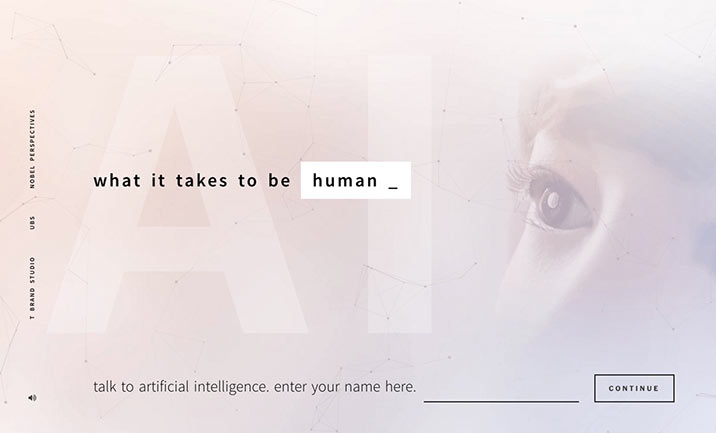 AI: What It Takes to Be Human website