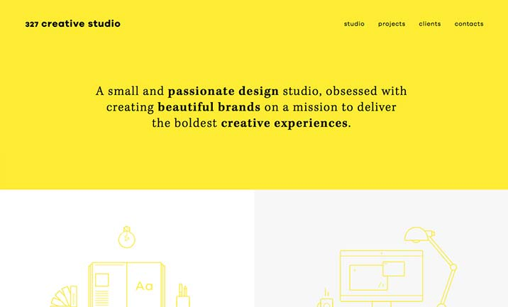 327 Creative Studio  website
