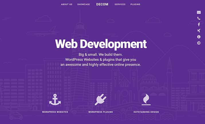 Decom website