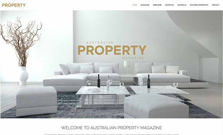 Australian Property Magazine website