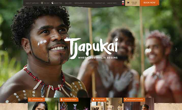 tjapukai website