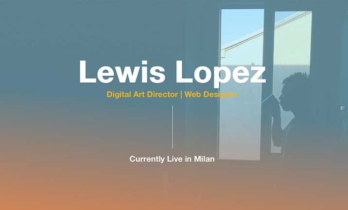Lewis Lopez - Life in a Day website