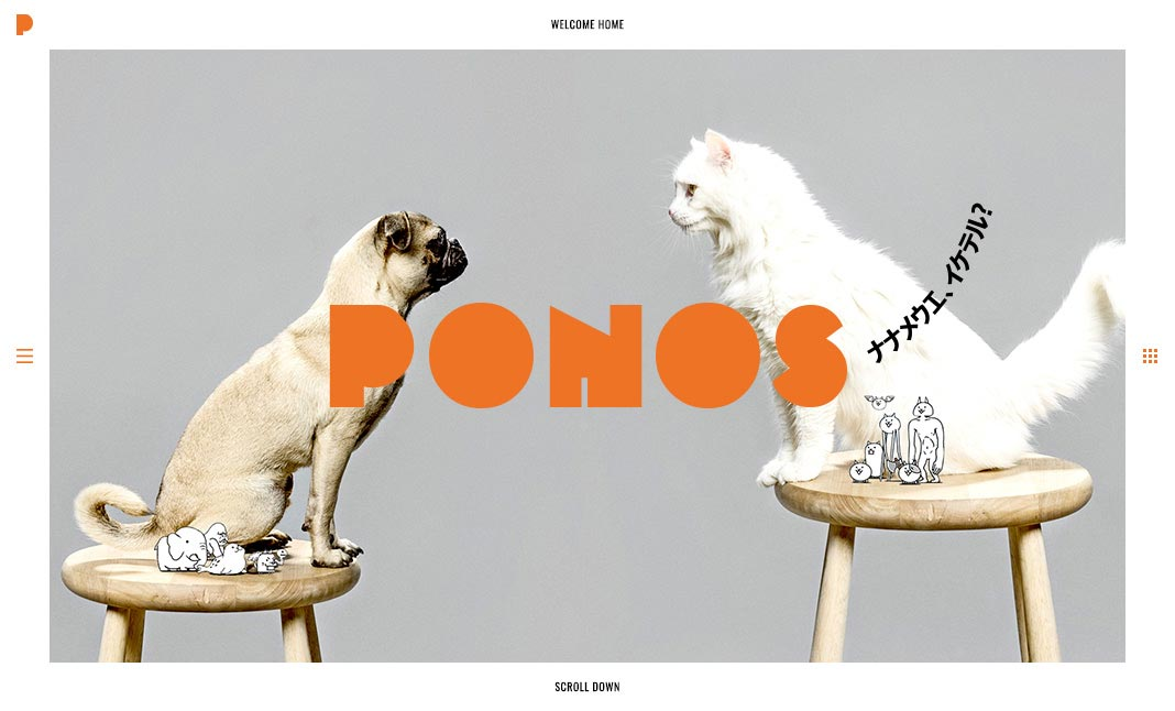 PONOS INC. website