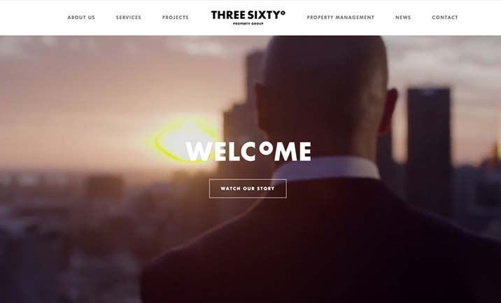 Three Sixty°Property Group website
