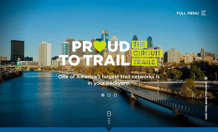 The Circuit Trails  website