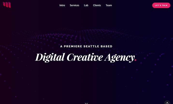 Mobius Agency website