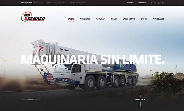 Tecmaco website