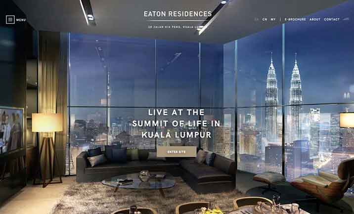 Eaton Residences website