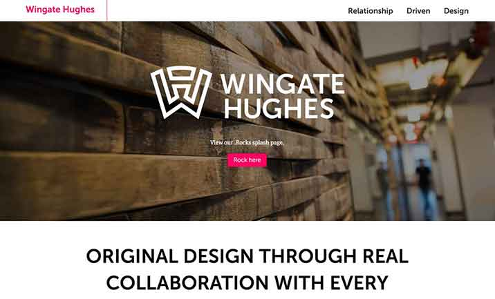 Wingate Hughes website