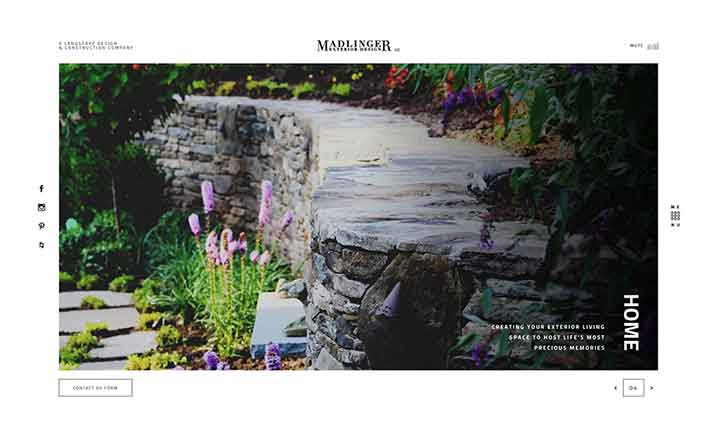 Madlinger Exterior Design website