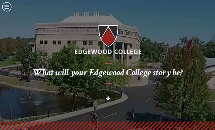 Edgewood College website