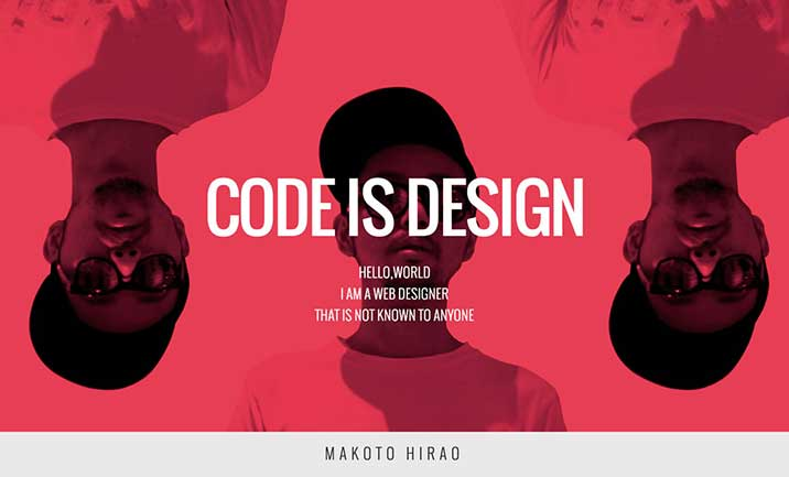 CODE IS DESIGN website