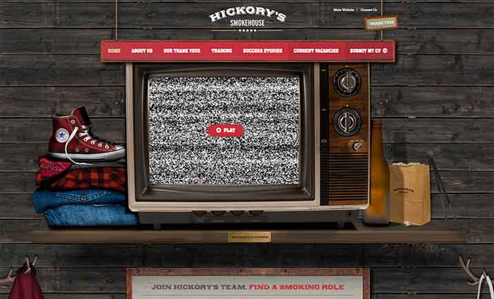 Hickory's Smokehouse website