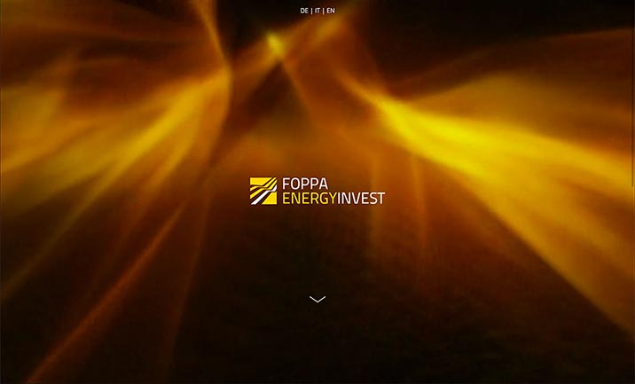 Foppa Energyinvest website