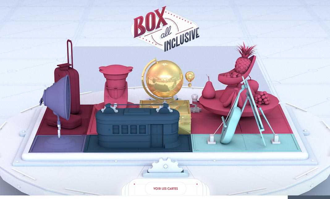 Box All Inclusive website