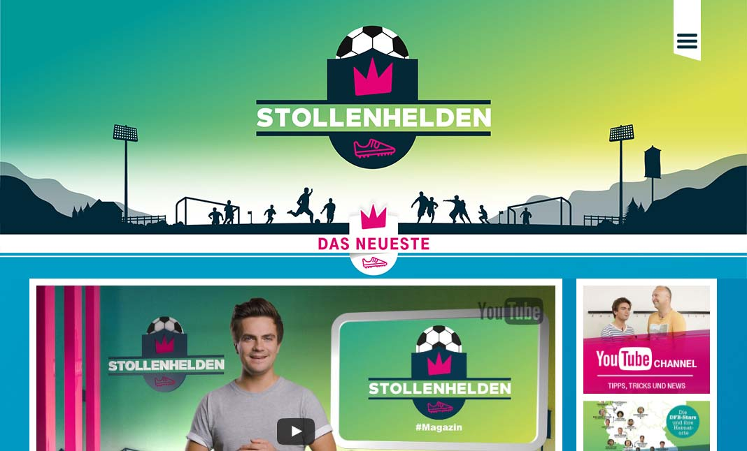 Stollenhelden website