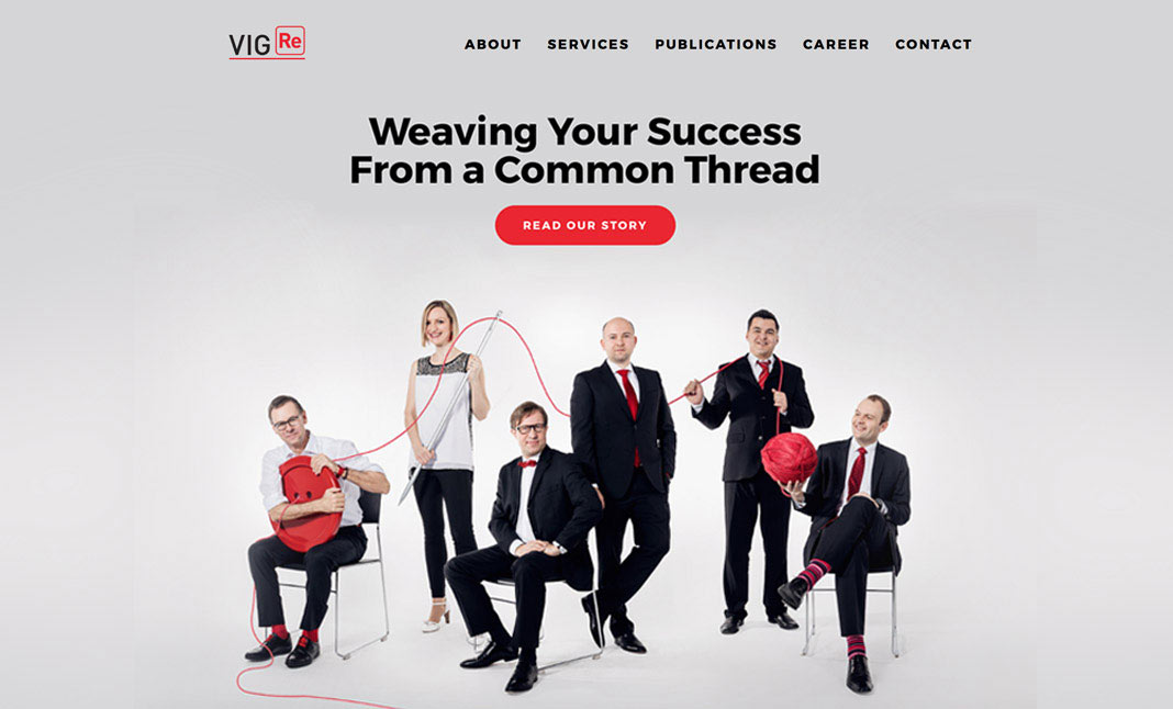 Weaving Your Success website