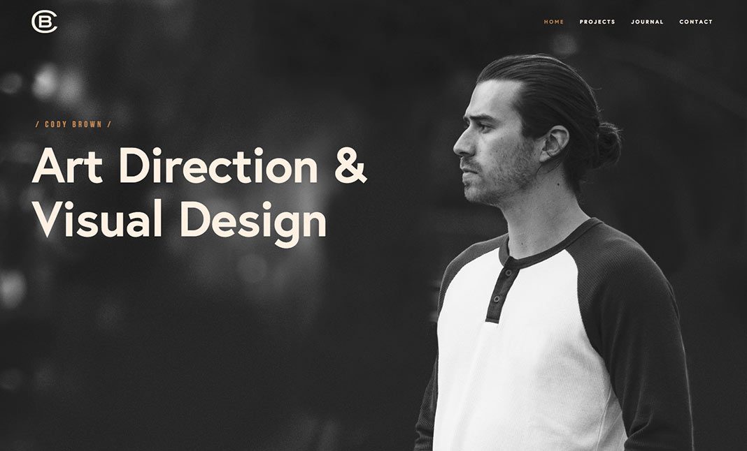 Cody Brown Design website