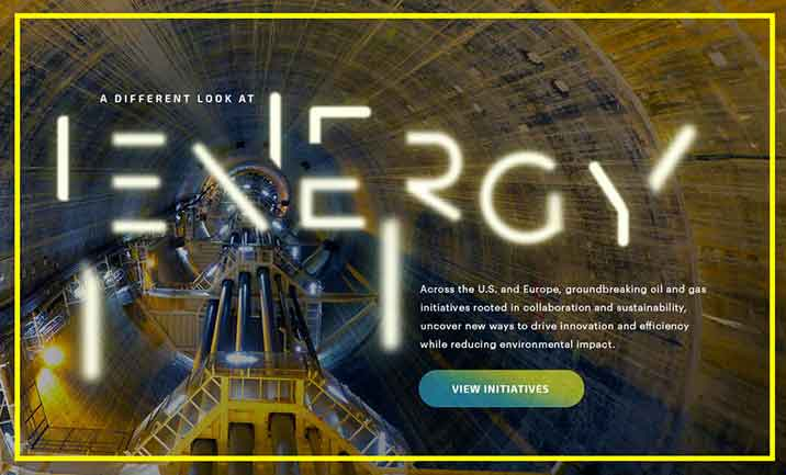 A Different Look at Energy website